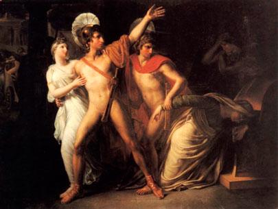 Cástor y Pólux. Amable Paul Coutan