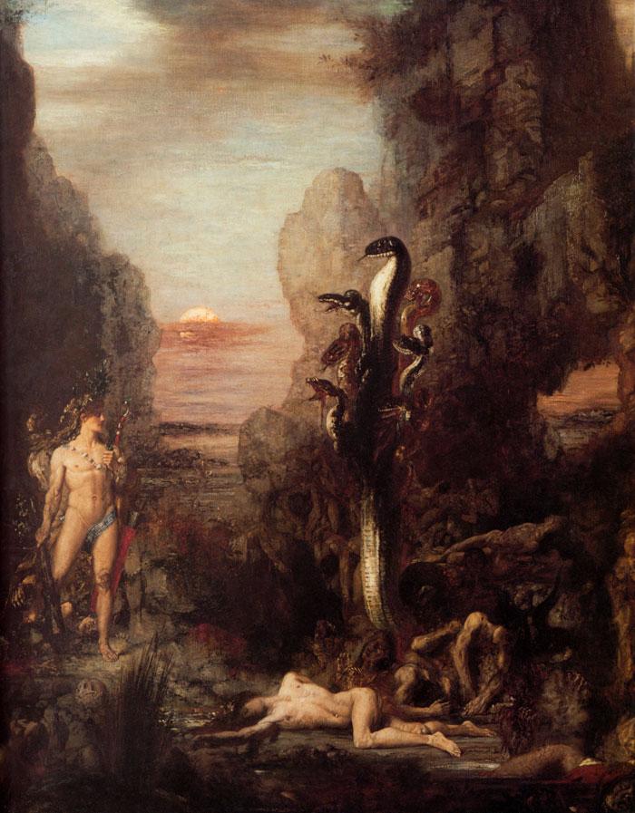Gustave-Moreau-Hercules-y-la-Hidra