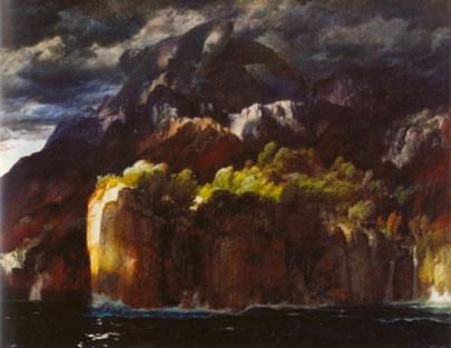 Prometeo. Arnold Böcklin