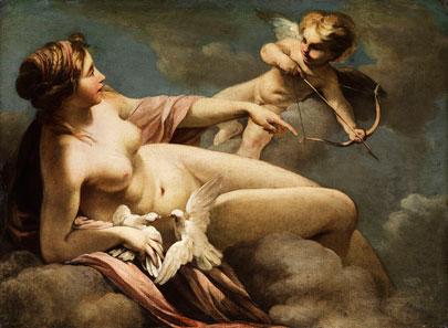 Venus y Cupido. Sebastiano Ricci