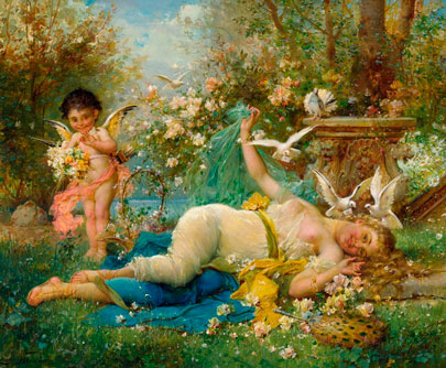 Venus-y-Cupido.-Joseph-Bernard