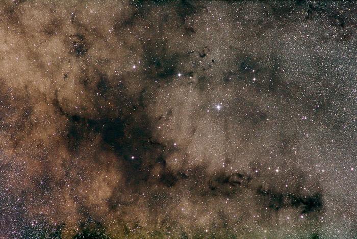 Stem of Pipe Nebula B 59
