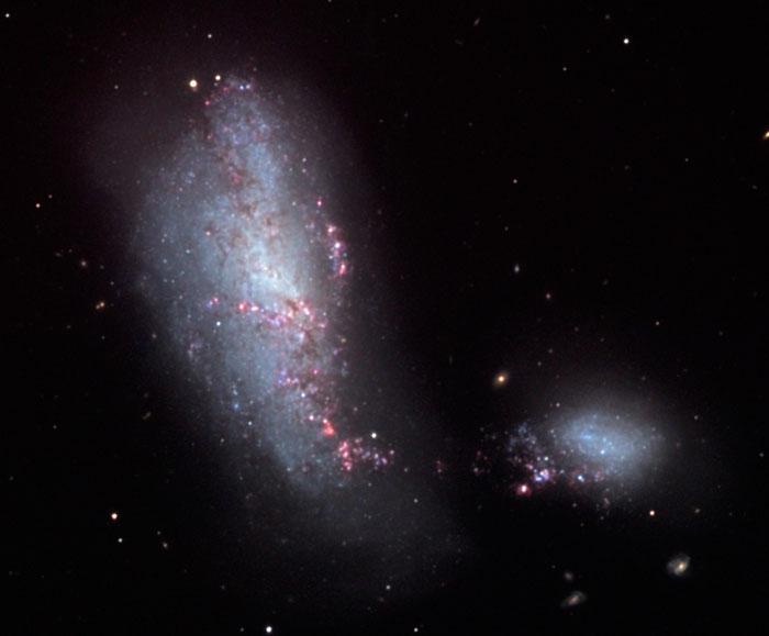 Cocoon Galaxy, NGC 4490