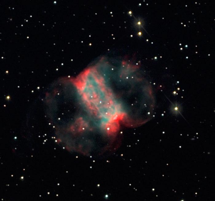 Cork Nebula or Little Dumbbell