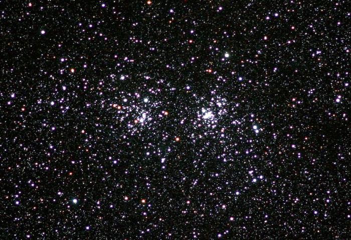 Double Cluster or  Chi Persei  η y χ Per  -  NGC 869 - 884