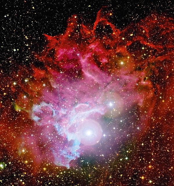 Flaming Star Nebula