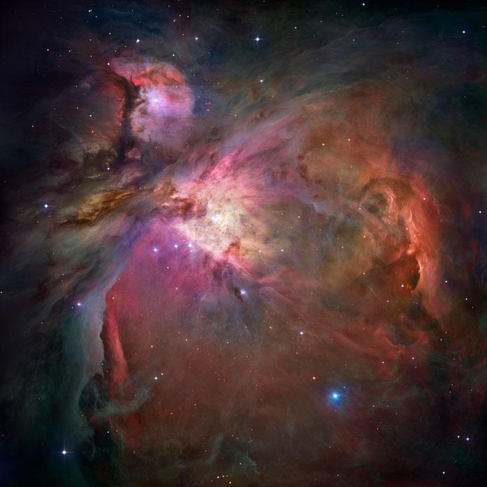 Great Nebula or Orión Nebula, M 42 - NGC 1976