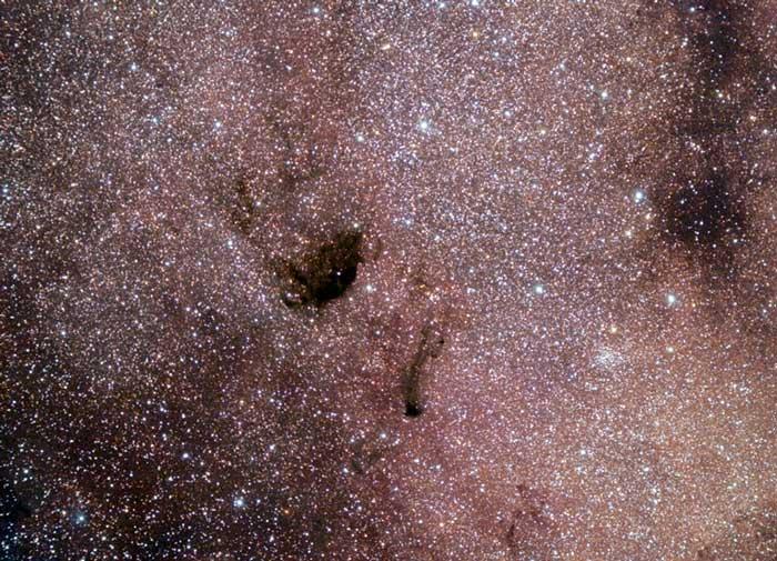 Black Hole  Small, Sagittarius Star Cloud