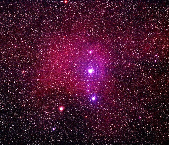 Lambda Orionis Nebula