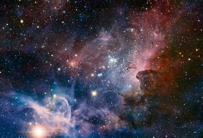 Key-Hole Nebula, Carina Nebula or Great Nebula in Carina NGC 3372