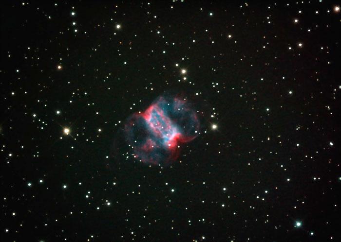 Little Dumbbell or Cork Nebula M 76 - NGC 650/1
