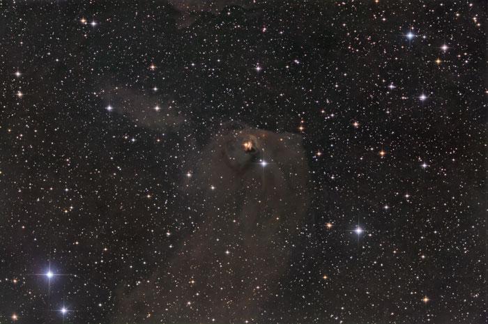 Struve's Lost NebulaNGC 1554