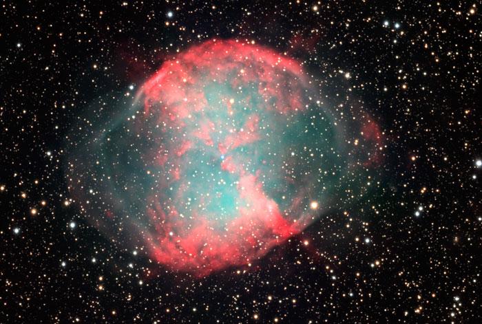 Dumbbell Nebula M 27 - NGC 6853