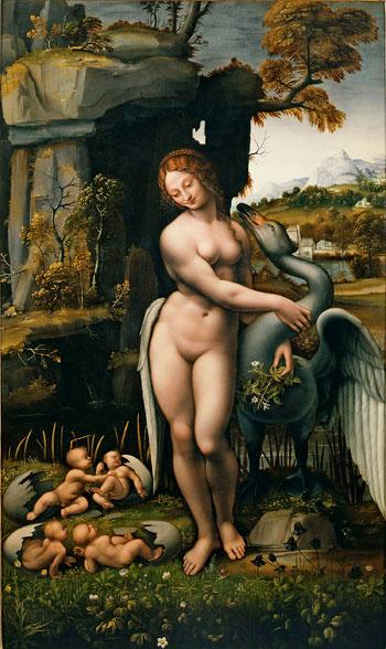 Leonardo-da-Vinci.-Leda y el cisne