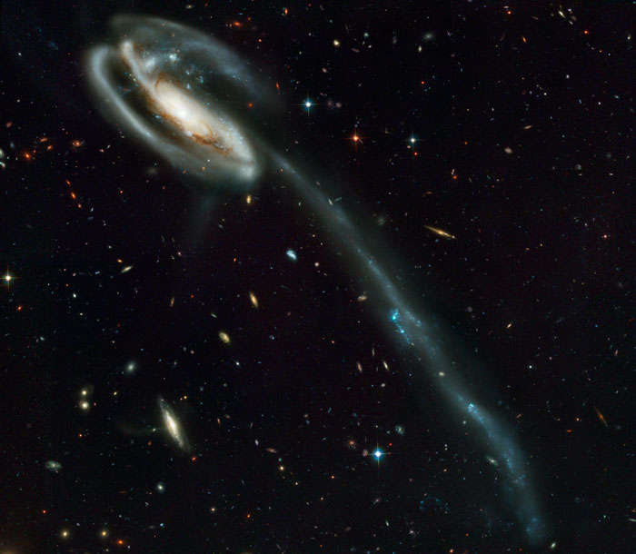 Draco Tadpole Galaxy or Tadpole's Tidal Tail UGC 10214- Arp 188