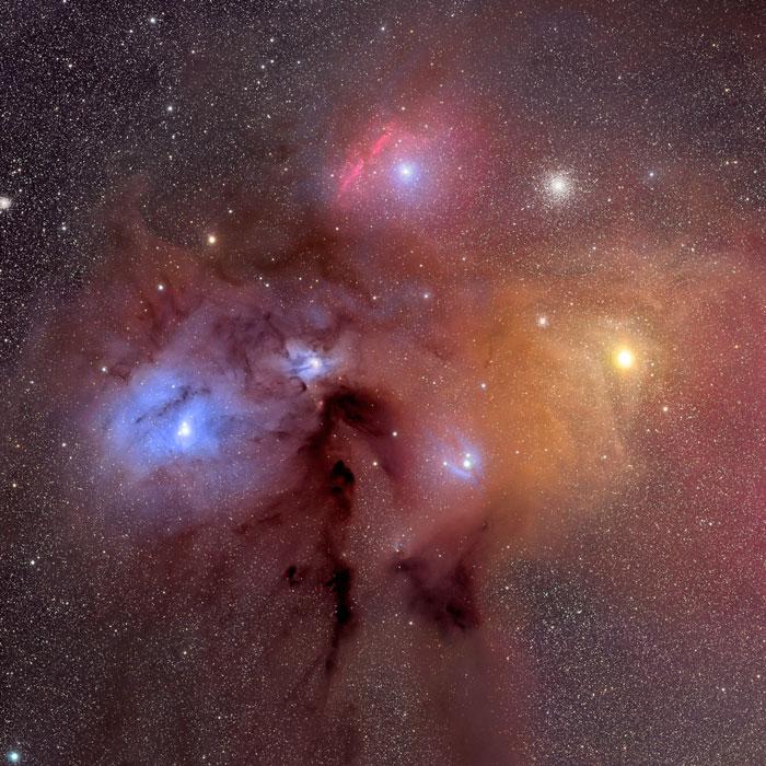 Rho Ofphiuchi NebulaIC 4604