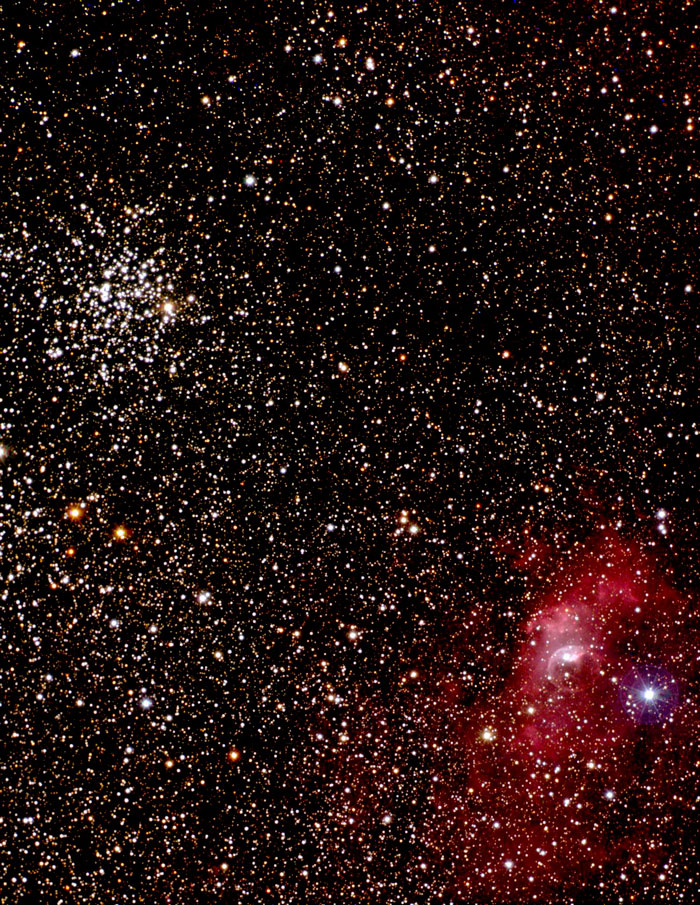 Salt-and-Pepper Cluster M 52 -  NGC 7654
