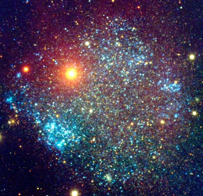 Sextans A Galaxy UGCA 205