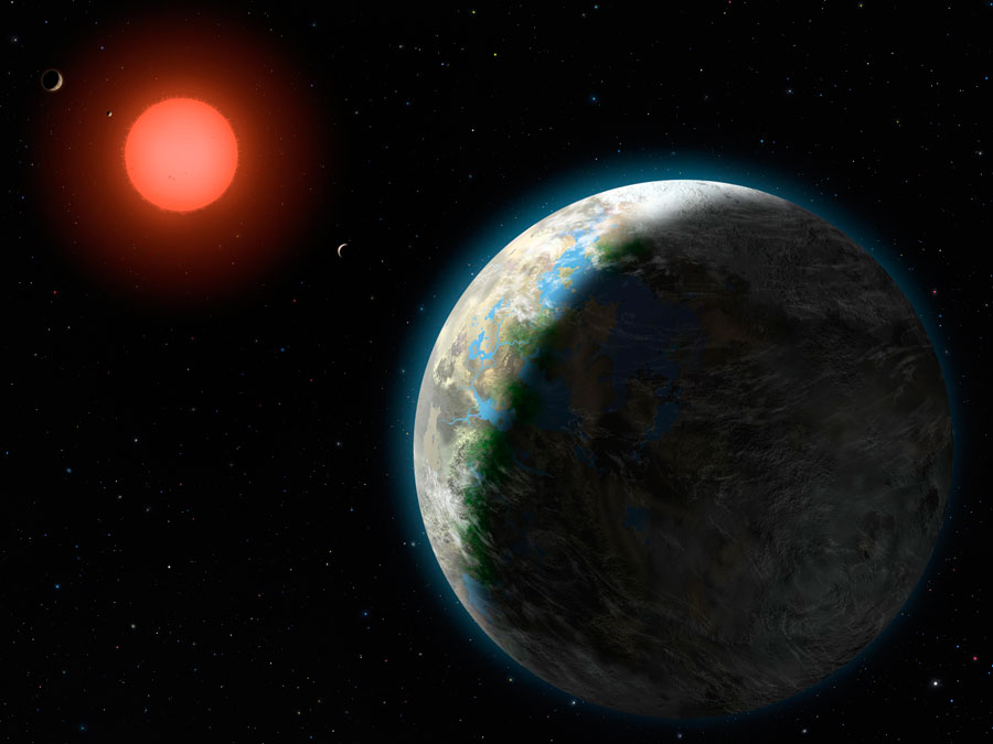Gliese 581c  Leo