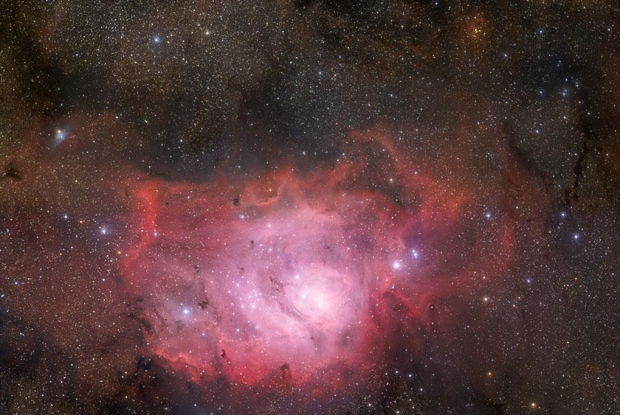 M8 Nebulosa la Laguna. Sagitario