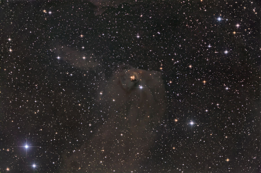 NGC 1554 NGC 1555  Perdida de Struve y Variable de HInd