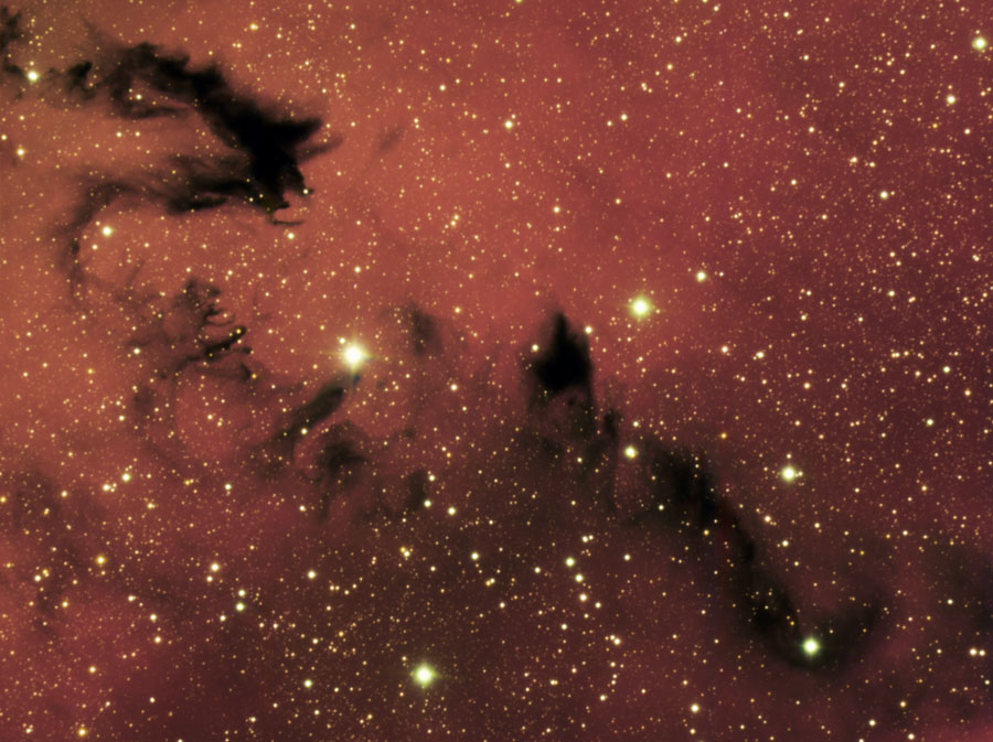 Dragón Chino. NGC 6559. Sagitario