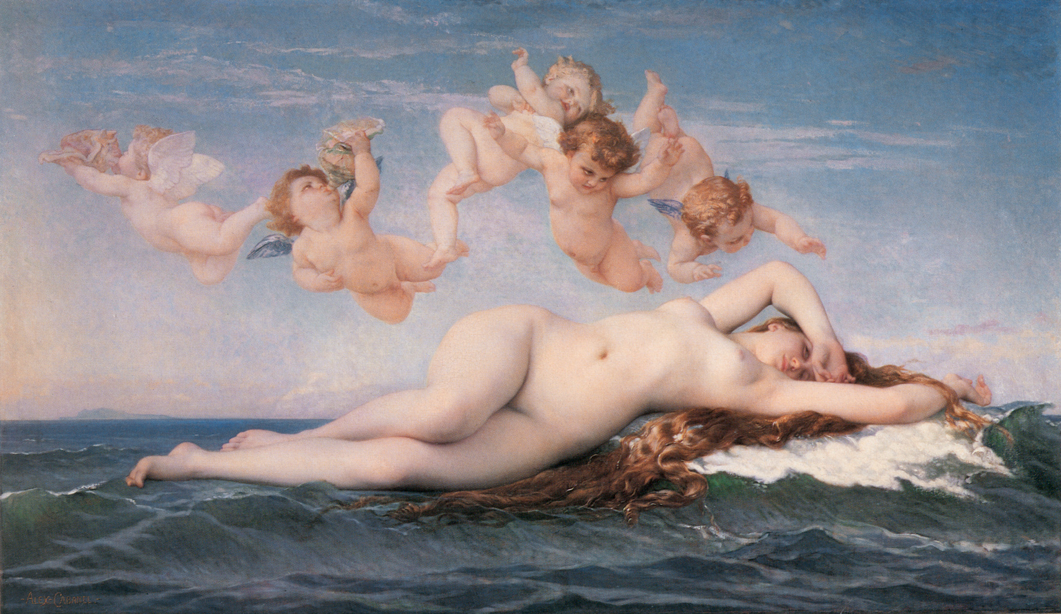 the_birth_of_venus- Cabanel