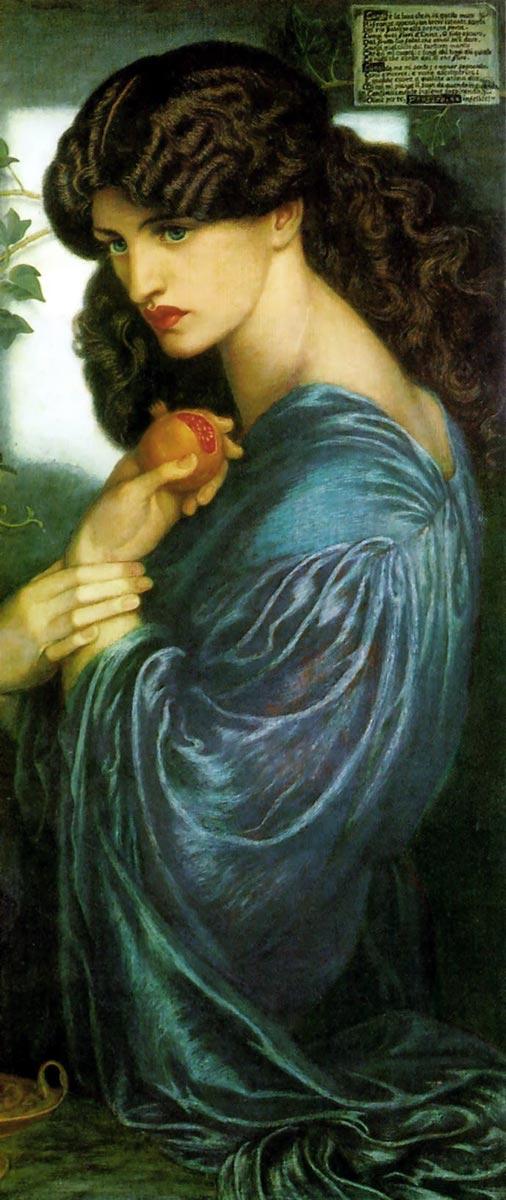 Proserpina. Dante Gabriel Rossetti